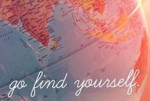Travel quotes / Words that inspire to travel and live life to its fullest potential.