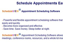 Scheduleview.com / Appointment scheduling software is really vital for a writer, who handles freelance basis. A writer has to manage various clients, fulfill them to recognize their needs, deliver multiple tasks, ready a number of invoices and a whole lot a lot more. One of this software application's goals is enhance expense productivity and time management. By following the correct kind of software, you can easily have an efficient unit to boost revenues and improve productivity. Consequently, finding time for r
