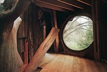 Living in tree houses / Life would be simple