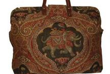 Carpet Bag Creations / Unique limited edition and one-of-a-kind bags to travel with