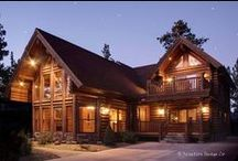 Log Home Living / What's more appropriate to the mountain lifestyle than a log home?  Whether it's log-sided, or a custom-crafted full-log, nothing beats the warmth and ambiance of a log home, and decorating it couldn't be more fun!