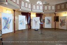 """Tango Paintings by Carina Aprile  / TANGOS PICTÓRICOS de Carina Aprile (2002-2011)  Proyecto """"Alma del tango""""  """" ....Los opuestos se funden en dualismos armonicos, desvelando la esencia del tango..."""" © Carina Aprile.  2010 - L'ANIMA DEL TANGO di Carina Aprile  Catalogo a cura di Philippe Daverio"""