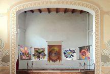 """LA CORONA CAÍDA by Carina Aprile  / Painting on Canvas  (2000-2011) Proyecto """"Tango y Nueva Era""""  <<En la secuencia """"La Corona Caída""""  he representado por medio de abstracción simbólica el fin de la opresión sobre el pueblo como Nación y el nacimiento de una Nueva Era>> © Carina Aprile"""