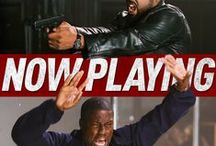 Ride Along / Fast-talking security guard Ben (Kevin Hart) joins his cop soon-to-be brother-in-law James (Ice Cube) on a 24-hour patrol of Atlanta in order to prove himself worthy of marrying Angela, James' sister. In theaters January 17th. / by Universal Pictures
