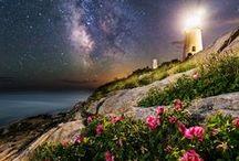 Маяки / Lighthouses / Фотографии и иллюстрации, на которых изображены маяки