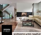 """Sophisticated Simplicity / """"Sophisticated Simplicity"""" the Design First Interiors 2014 GOHBA Housing Design Awards Winner in the Custom urban infill, 3,100 to 4,499 sq. ft. category."""
