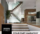 """Four Part Harmony / """"Four Part Harmony"""" the Design First Interiors 2014 GOHBA Housing Design Awards Winner in the Any Room in the House category"""
