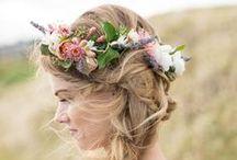 Flower headbands / Lovely flower headbands for all occasions.