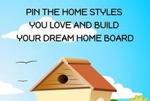 Mood Board | Home Styles / PIN THE HOME STYLES YOU LOVE AND BUILD YOUR DREAM HOME BOARD Maggie Oreck - Realtor® 818.590.1309