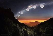 Луна. Небо. Космос / Фотографии