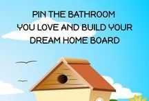 Mood Board |Bathrooms / PIN THE BATHROOM YOU LOVE AND BUILD YOUR DREAM HOME BOARD I CAN'T IMAGINE MORE LUXURY THAN A FANTASTIC BATH. Maggie Oreck - Realtor® 818.906.8388