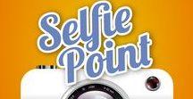 """Concurso #SelfiePoint Pueblo Acantilado / Concurso permanente para los clientes que vienen a visitarnos. Participa así de fácil:  1. Hazte un selfie en uno de nuestros carteles """"Selfie Point"""" que encontrarás repartidos por Pueblo Acantilado.   2. Comparte tu foto en tus redes sociales con el hashtag #PuebloAcantilado y si quieres ponle también: #SelfiePoint  @Pueblo_Acantilado  3. Ah ¡no te olvides de seguirnos en al menos una de estas Redes Sociales: Facebook, Instagram y Twitter.  ¡Sorteamos una estancia entre todos!"""