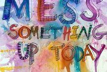 Bring me a Creative corner / Living a creative life