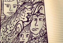 Desenhos / Desenhos com caneta Bic
