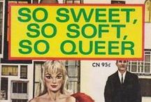 LGBT Paperbacks and Pulps / vintage LGBT book art from archives, gloriabrame.com