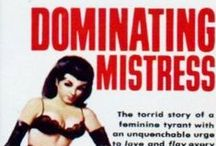 BDSM/fetish Paperbacks and Pulps / vintage books which explored BDSM, fetish and other kinky themes, from archives, gloriabrame.com