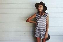 Summer fashion ☼ / Summer dresses, beautiful short, skirt and outfits to the hot weather for women.