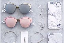 Accessories ❀ / Jewelry, bags and glasses. Things to make women really fashionable.