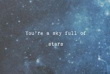 • A Sky Full Of Stars • / Cause in a sky full of stars i think i saw  you !! ❤