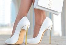 "❤ Shoes ❤ / ""Give a girl the right shoes, and she can conquer the world."" Marilyn Monroe"