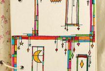 mosaicos y patrones