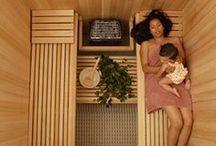 Sauna / Sauna, Баня - проекты, виды и дизайн