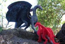 Fabric - Dragons