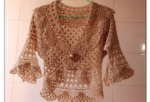 Crochet Shawls, Scarfs and Clothes
