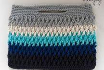 Crochet Baskets, Bags & Storage