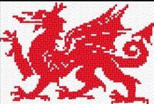 Cross Stitch - Dragons