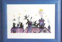 Cross Stitch - Witches & Goth