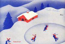 Vintage Christmas Music Sheet Covers