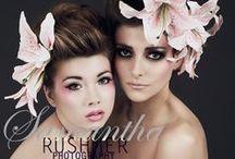 Lily Shoot / Fashion, soft but edgy, romantic but fierce with Hair Stylist: Alison Jenner MUA: Rochelle O'Brien Models: Caroline, Mariella & Sophie 8/11/13