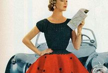 Vintage 1950 / My mother had dresses like this, when I was a child. I love it!!