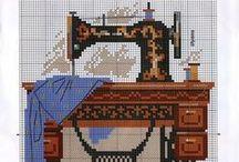 Cross Stitch - Craft Room