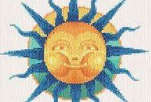 Cross Stitch - Celestial