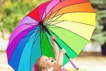 All the colors of the rainbow:) / by Lynley Flesch