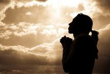 Prayer / Prayer is simply a two-way conversation between you and God. ~  Billy Graham   / by Trish Hardin