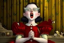 Ray Caesar's drawings