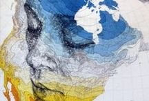 Ed Fairburn's map portraits