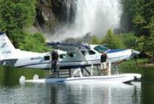 Chatterbox Falls Excursion / This spectacular journey starts with a low level flight along B.C.'s Sunshine Coast and the Skookumchuk Rapids. Manoeuvre through Princess Louisa Inlet's mile high cliffs before splashing down at the secluded Chatterbox Falls. Accessible only by seaplane or boat, you will be captivated by the true beauty of this natural wonder.