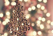 Natale~ /  Vorrei poter mettere lo spirito del Natale all'interno di un barattolo e poterlo tirare fuori mese per mese, poco alla volta..<3