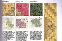 Embroidery - Needlepoint Stitches