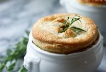 savoury tarts and pastry