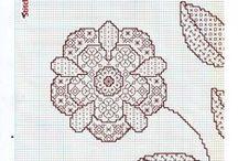Blackwork - Floral
