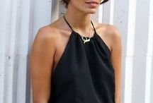 All black style | Ingnell Jewellery / Our idea of an all black style.