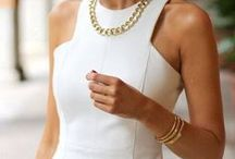 All white style | Ingnell Jewellery / Our idea of an all white style.