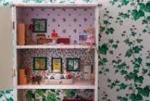 Upcycled Doll Houses