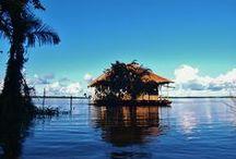 Puerto de Marasha (Sobre el Río Amazonas) / www.reservamarasha.com