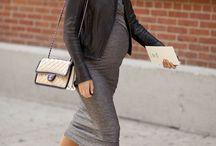 Pregnant Stylish Women